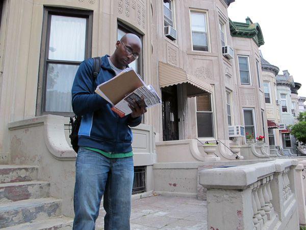 George Banning in Crown Heights, Brooklyn