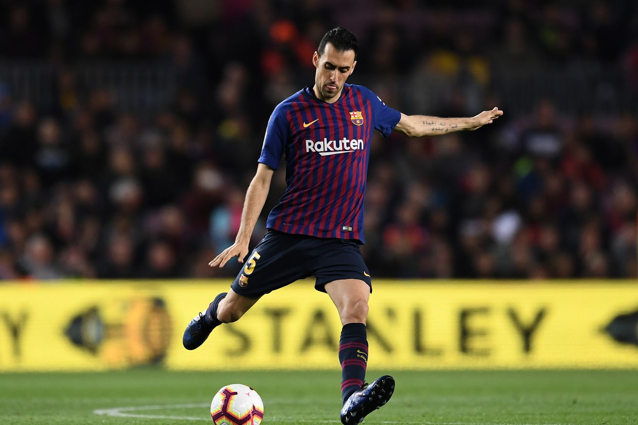Busquets admits Liverpool wound is deep after Getafe win
