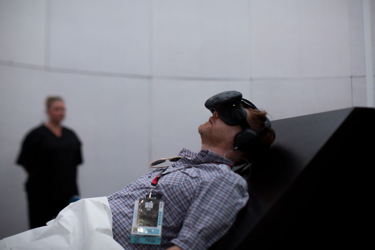 American Horror Story: Fearless VR at San Diego Comic-Con