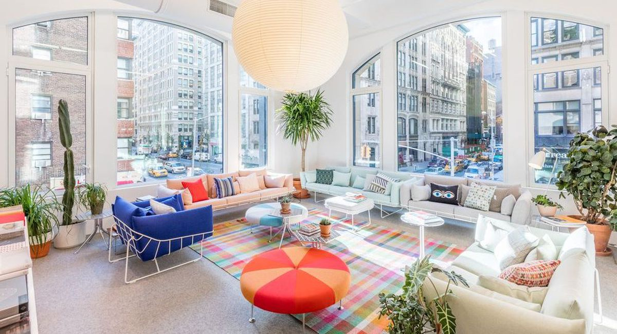 The herman miller flagship in new york city