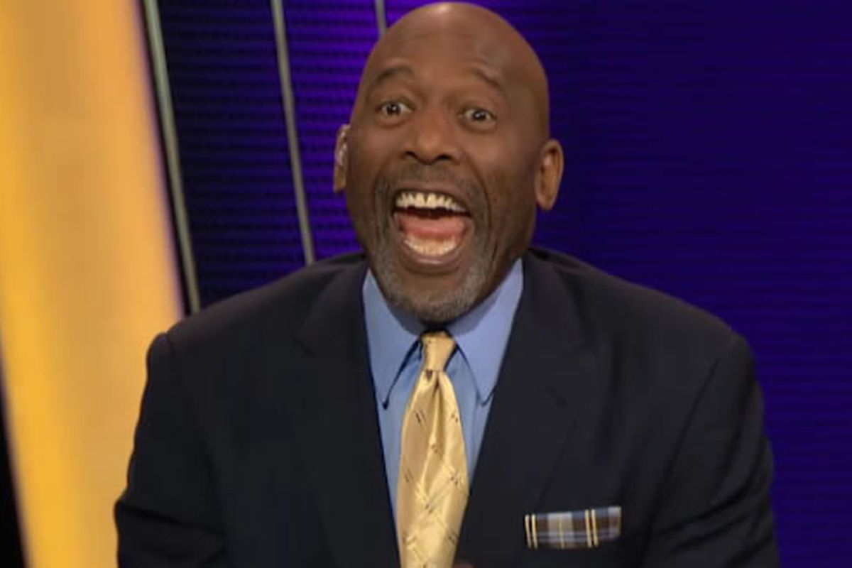 James Worthy lost his mind on the Lakers postgame show Silver