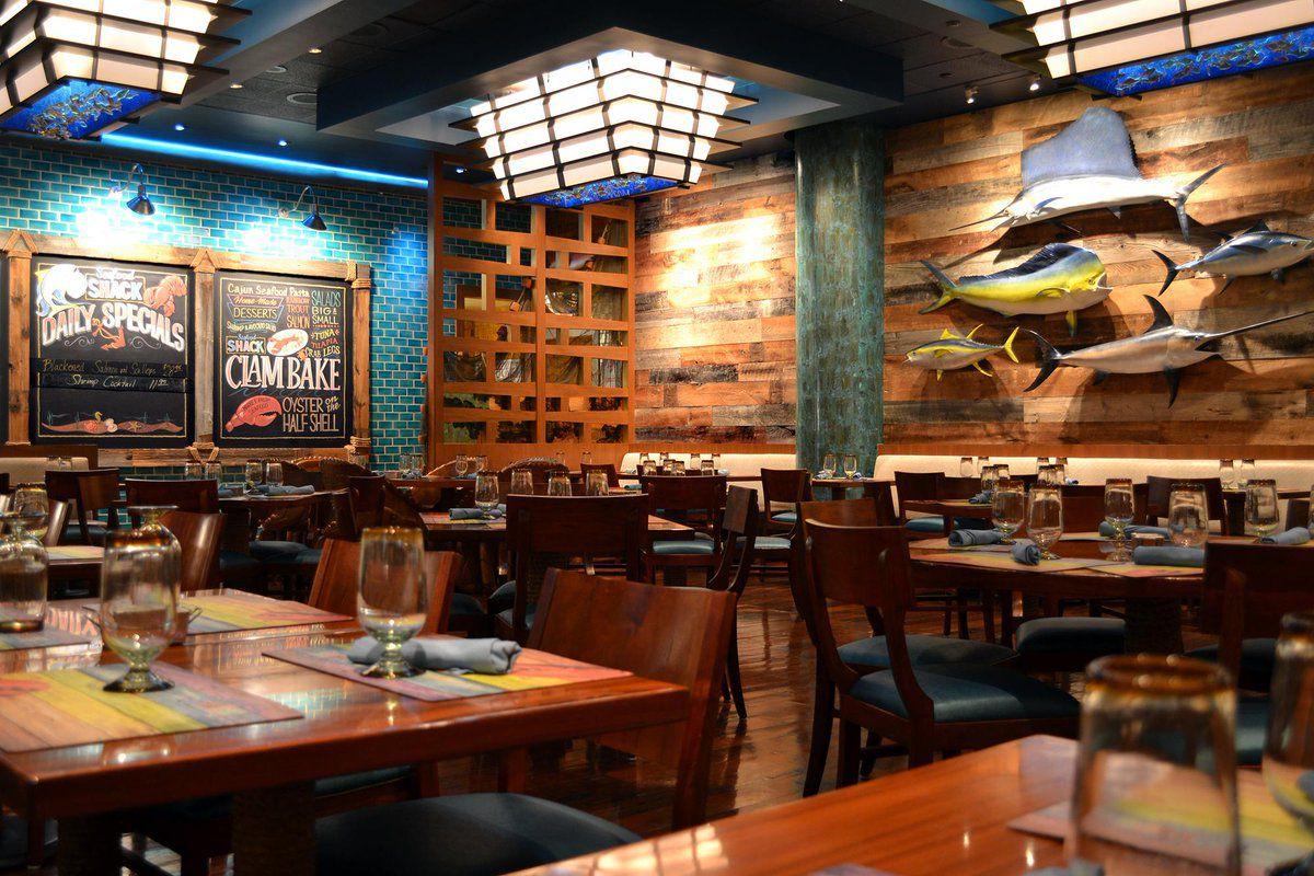 A seafood restaurant