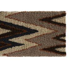 Vibrations shag rug, $549