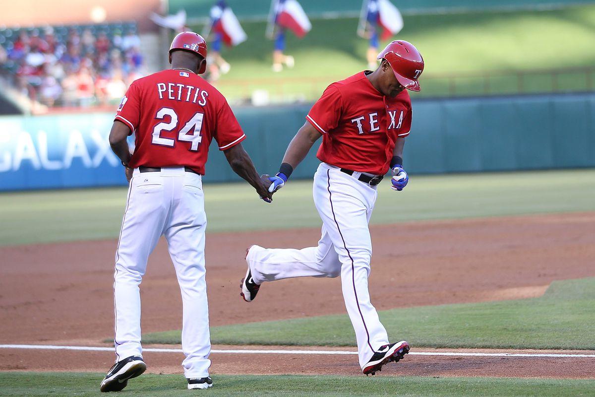 Pretty sure I love Adrian Beltre more than I like the Rangers