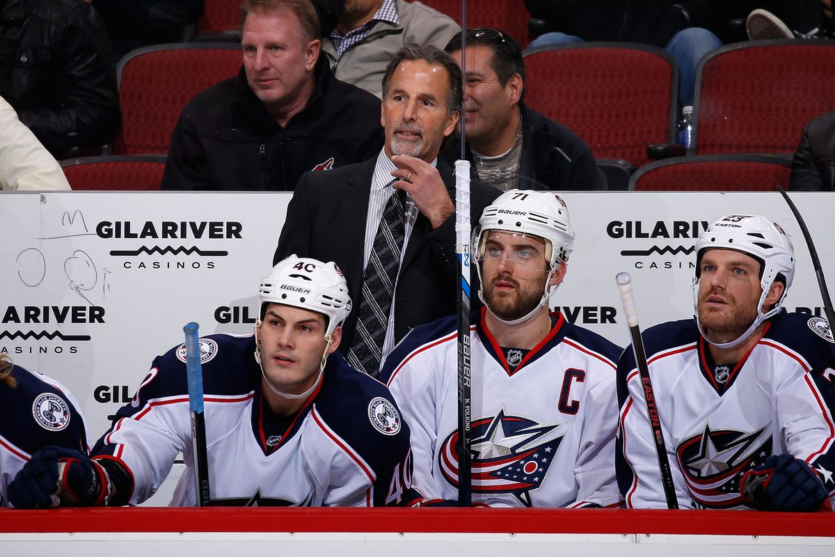 One of the blog listings for this morning is recapping the introduction of John Tortorella to Columbus...