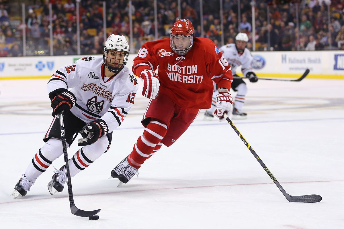 Image result for northeastern university hockey 2018