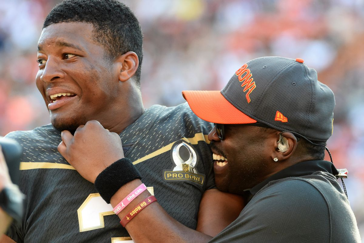 Jameis impressed  weight loss by Winston