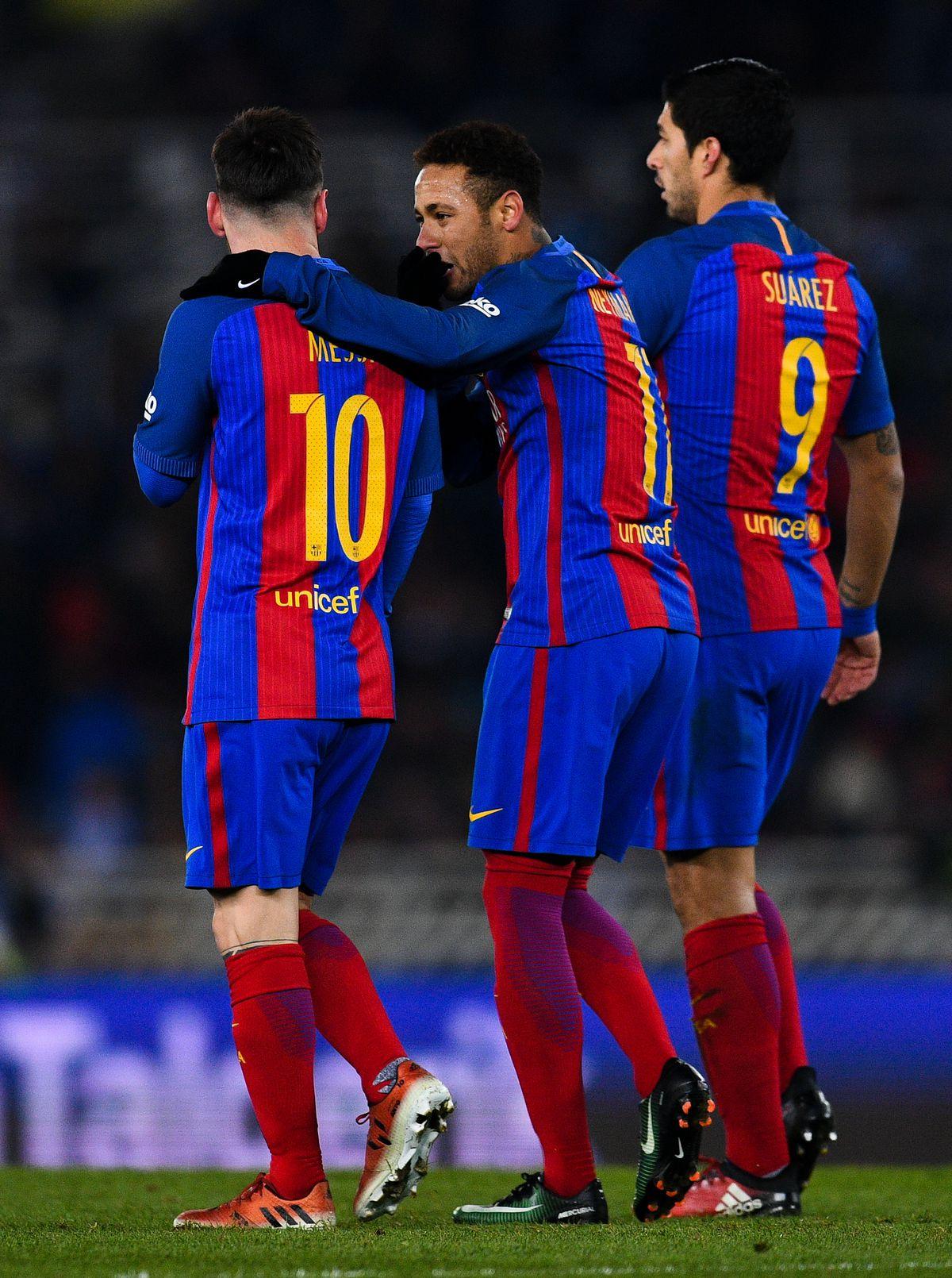 Real Sociedad v FC Barcelona - Copa Del Rey Quarter-final: First Leg