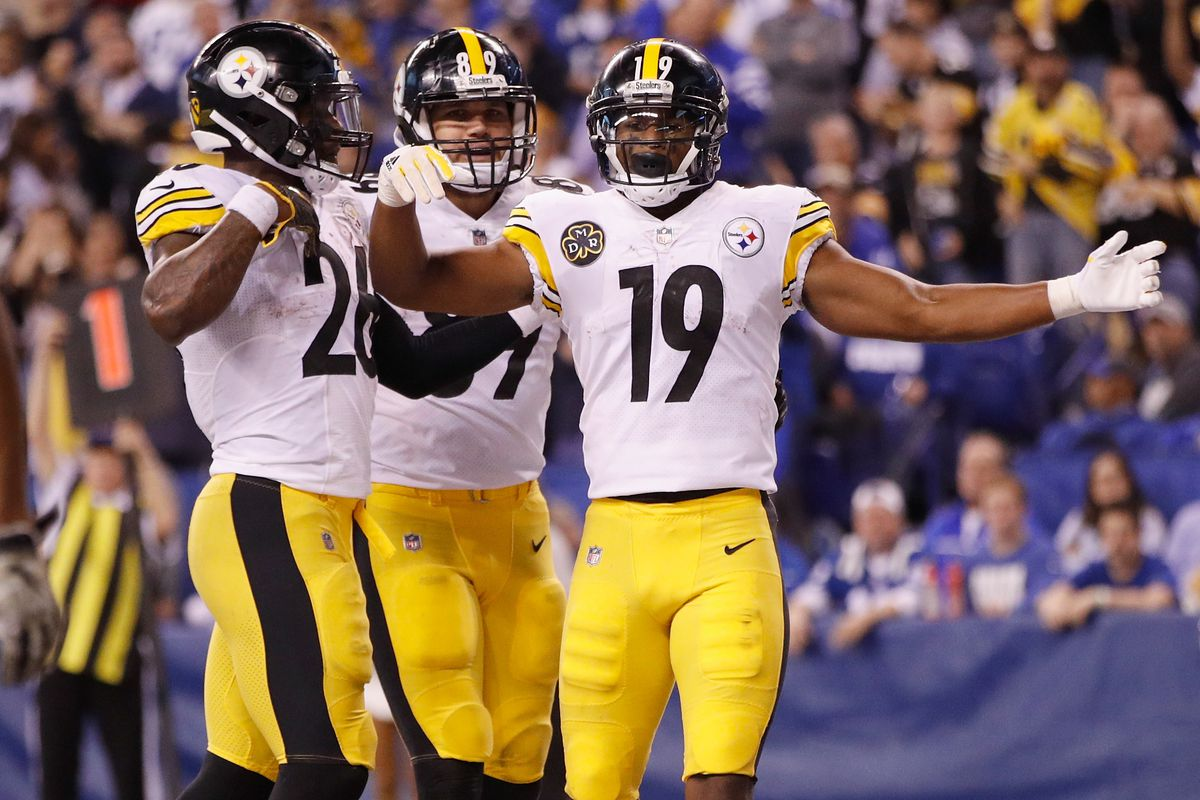 fc03802bb71 Steelers Film Room  JuJu Smith-Schuster becoming a favorite red-zone target  for Ben Roethlisberger