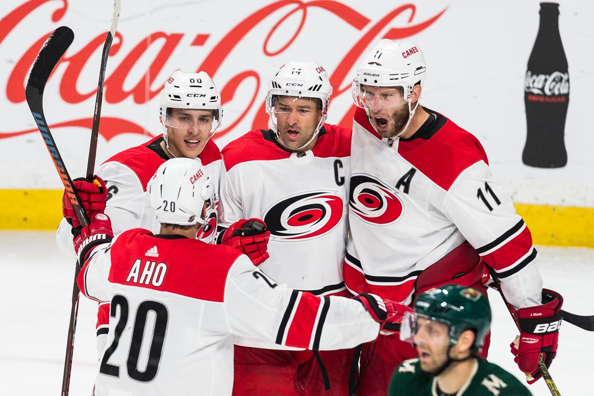 Aho Leads Canes to Comeback Win Against the Wild - Canes Country 2c5fd86a3