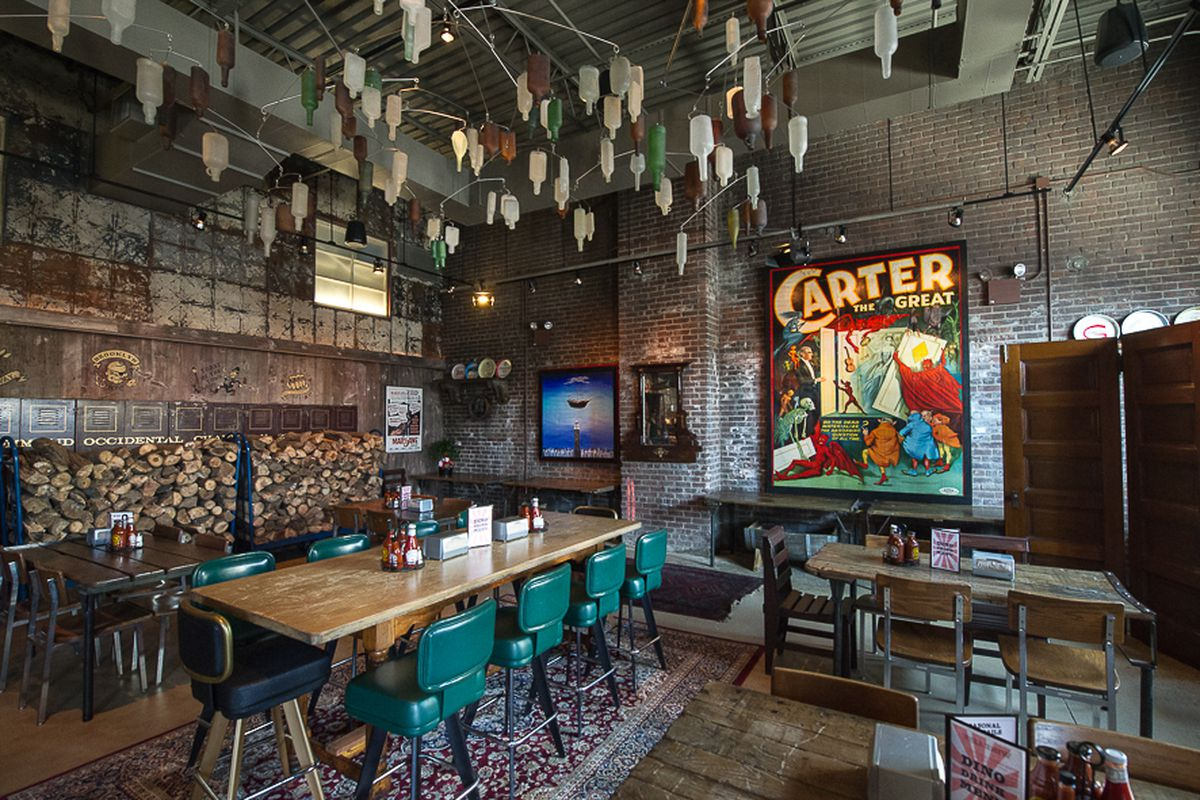 [The Gowanus location of Dinosaur Bar-B-Que]