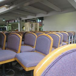 These seats will go in the Sheffield Grill