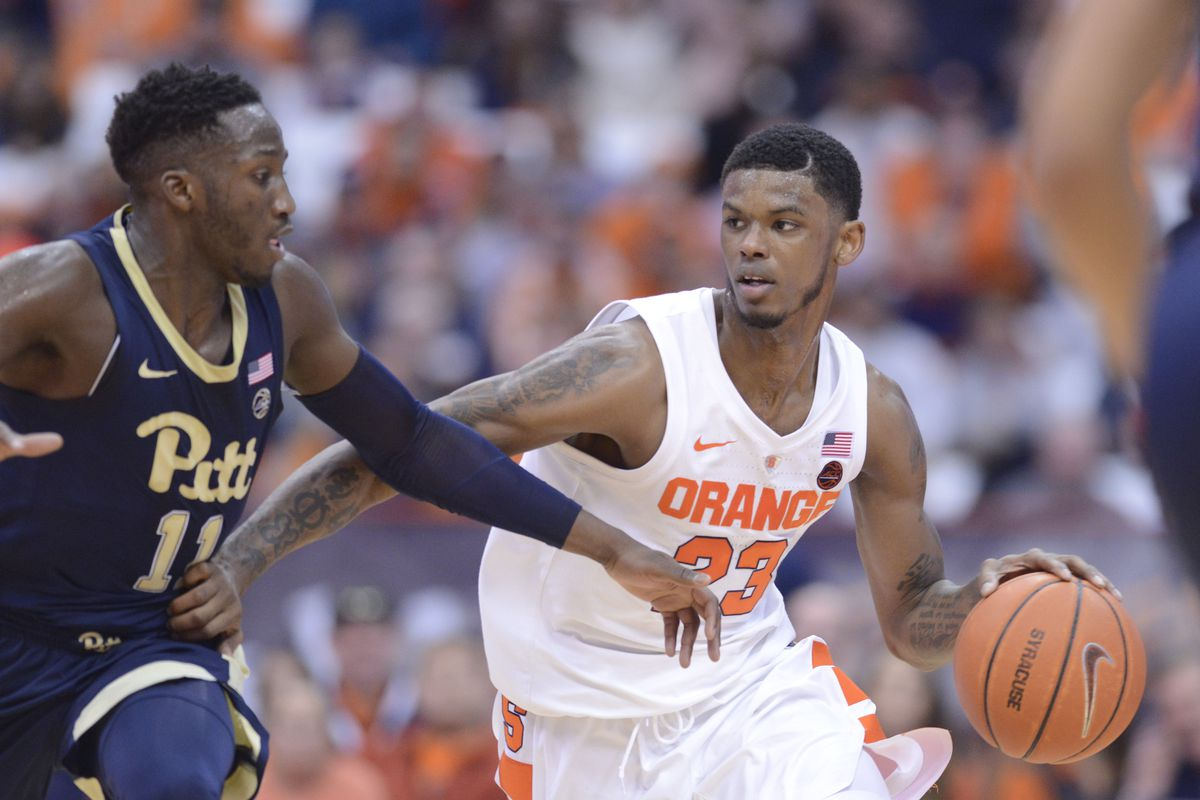 new arrival 13db6 179cf Six takeaways from Syracuse's 74-63 win over the Pittsburgh ...