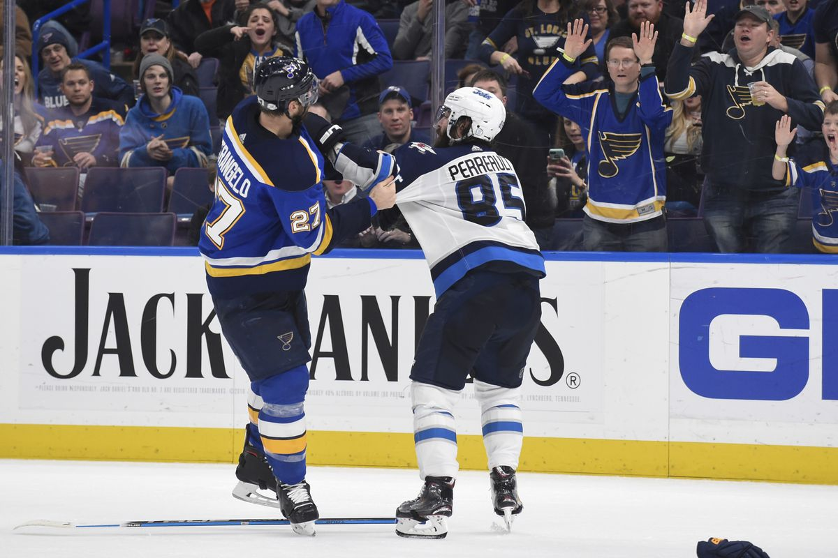 preview winnipeg jets at st louis blues arctic ice hockey. Black Bedroom Furniture Sets. Home Design Ideas