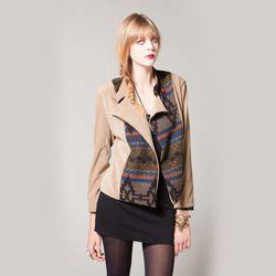 "<span class=""credit""><b>Kenny Clothes</b> Martin Jacket at <b>Flock</b>, <a href=""http://www.flockboston.com/martin-jacket.html"">$228</a></span><p>"