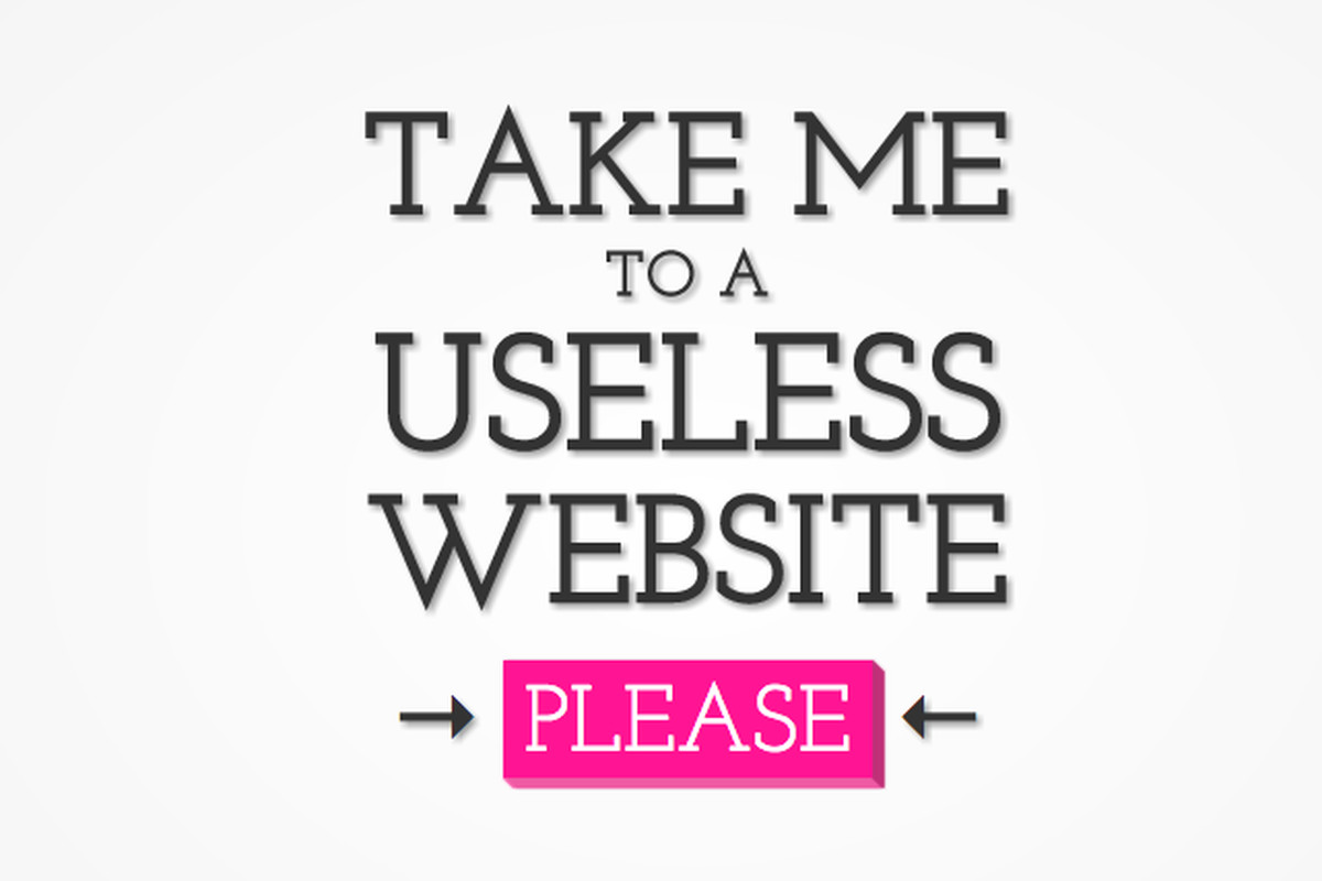 the useless web a collection of the world s most pointless websites