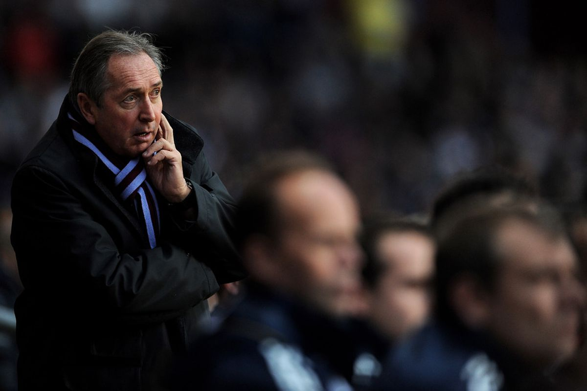 I believe I am beginning to fancy you, Gerard Houllier. (Photo by Michael Regan/Getty Images)
