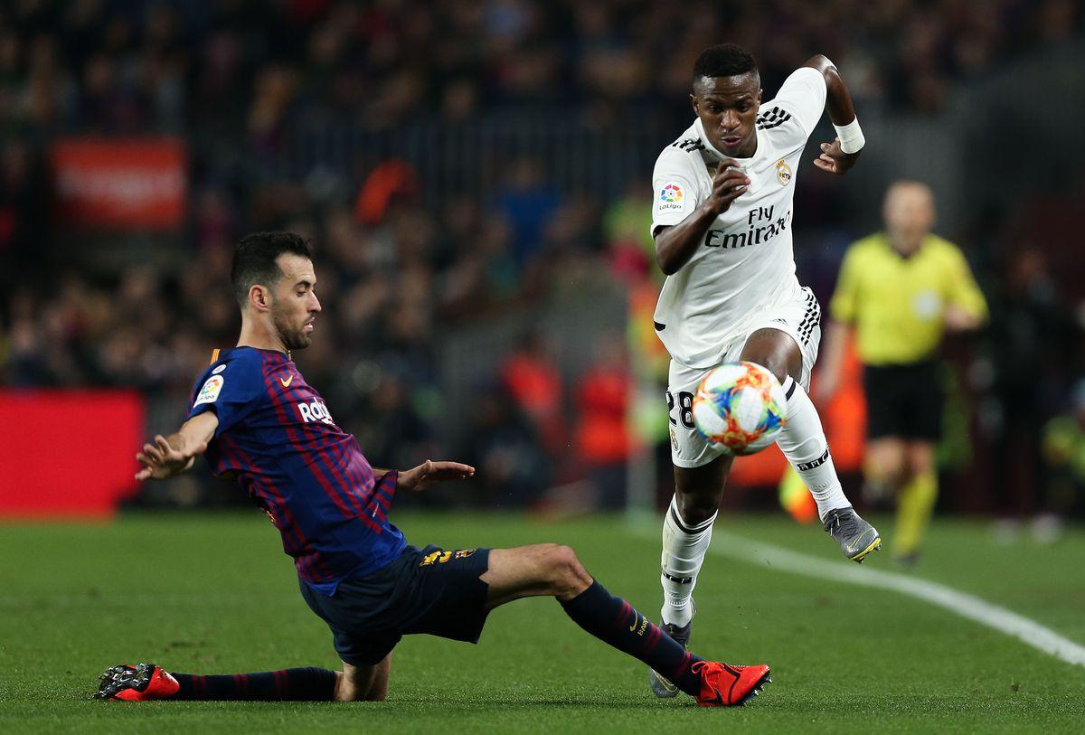 FC Barcelona v Real Madrid - Copa del Rey Semi Final