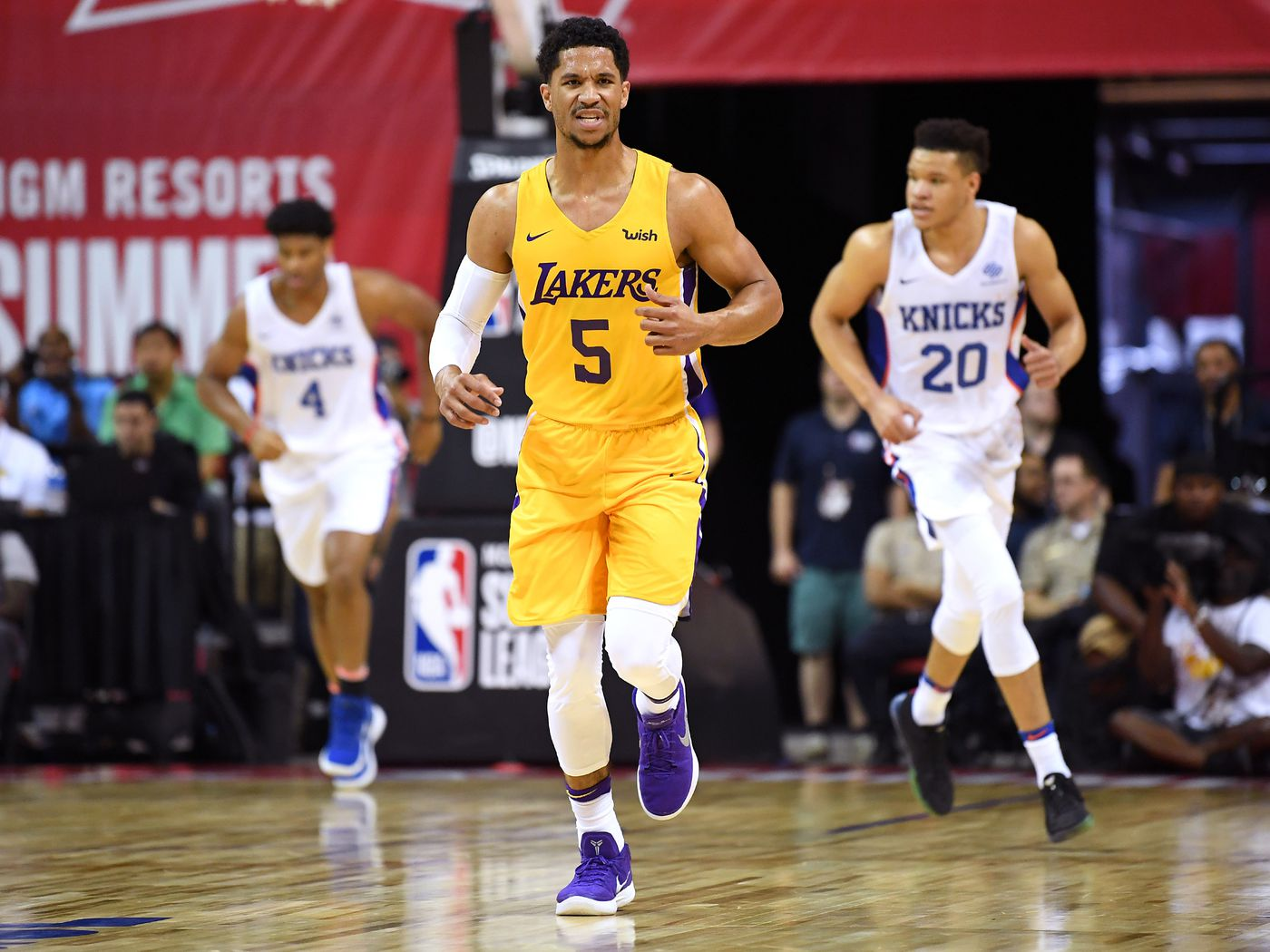 7cd3c07f3 Lakers News  Josh Hart explained why he switched from No. 5 to No. 3 -  Silver Screen and Roll