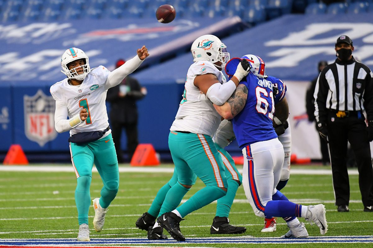 NFL: Miami Dolphins at Buffalo Bills