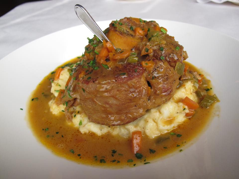 Osso buco at Nora's Cuisine