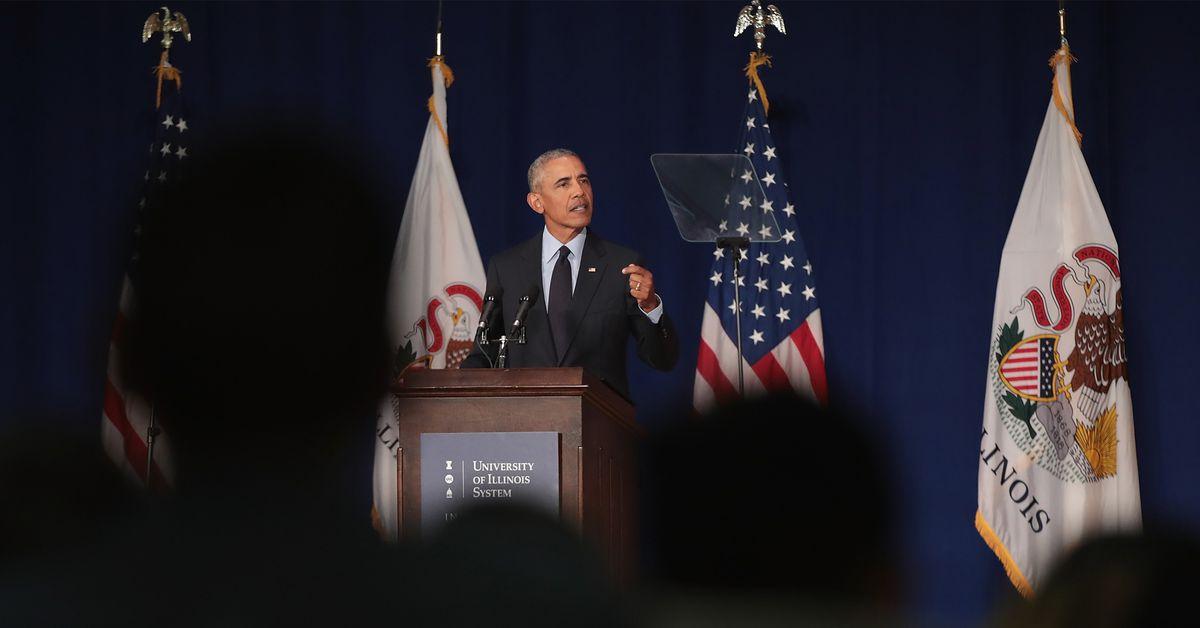 Read the full transcript of Obama?s fiery anti-Trump speech