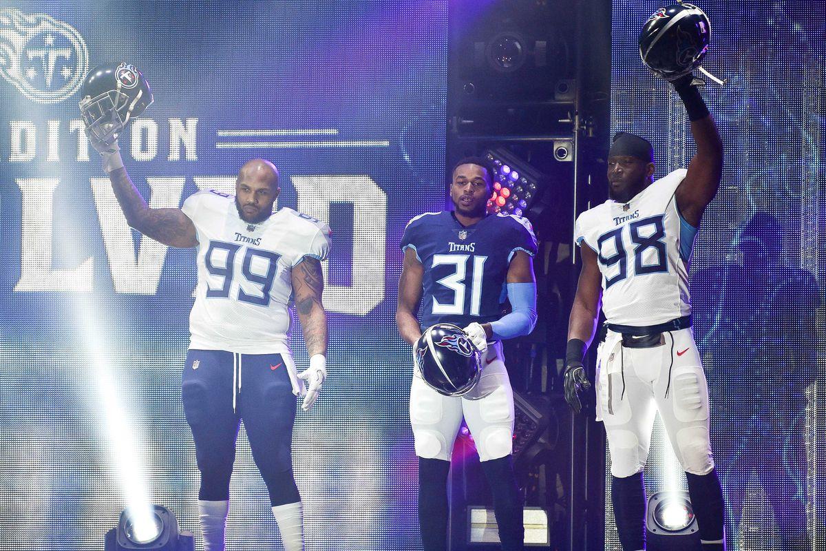 Sports: Titans Uniforms