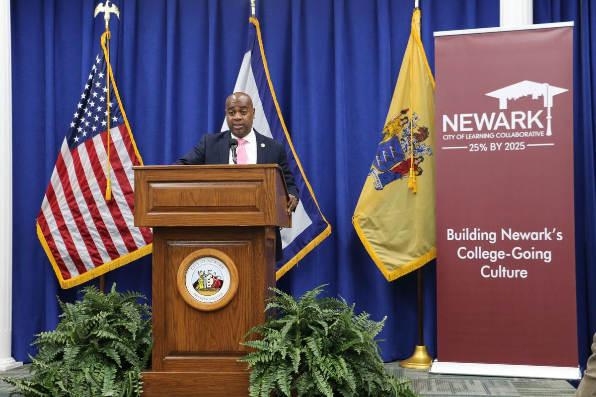 Newark Mayor Ras Baraka wants 25 percent of residents to have college degrees by 2025, up from 19 percent today.
