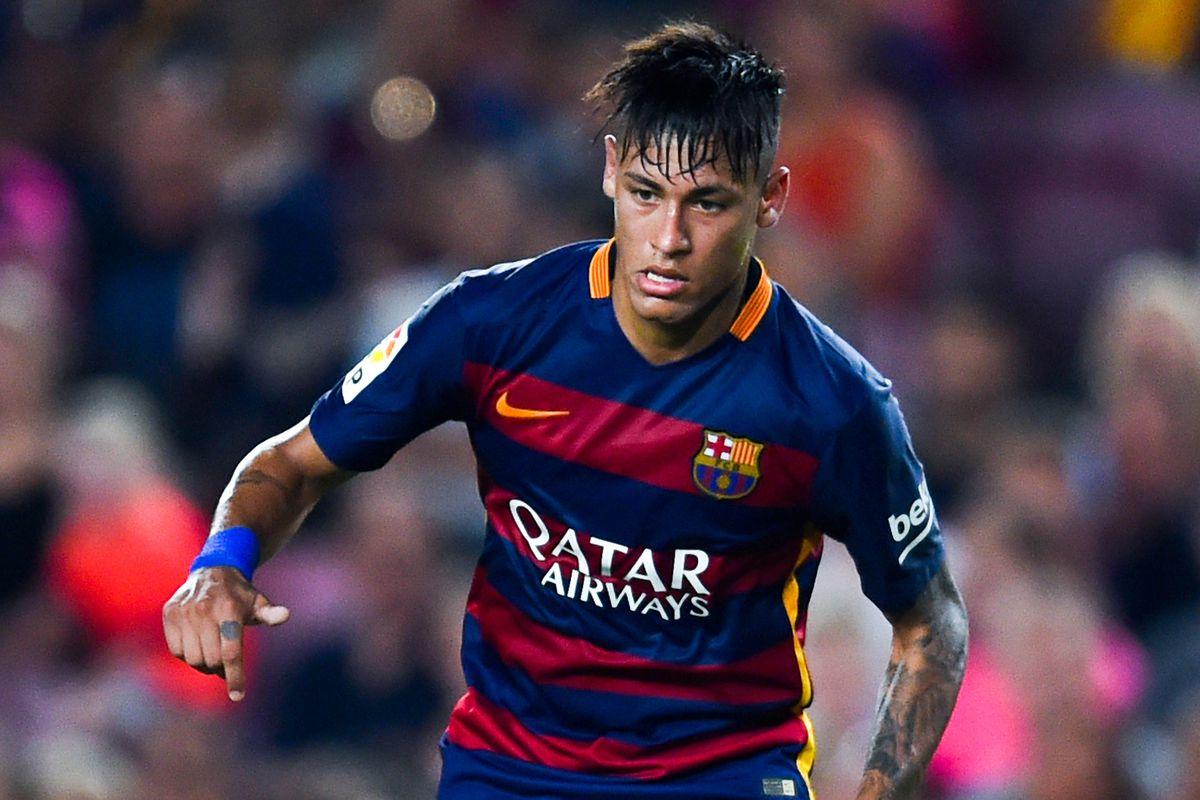 Chelsea Vs Manchester United Vs Fc Barcelona: Here's A Photo Of Neymar With Mumps. SPOILER ALERT: It's