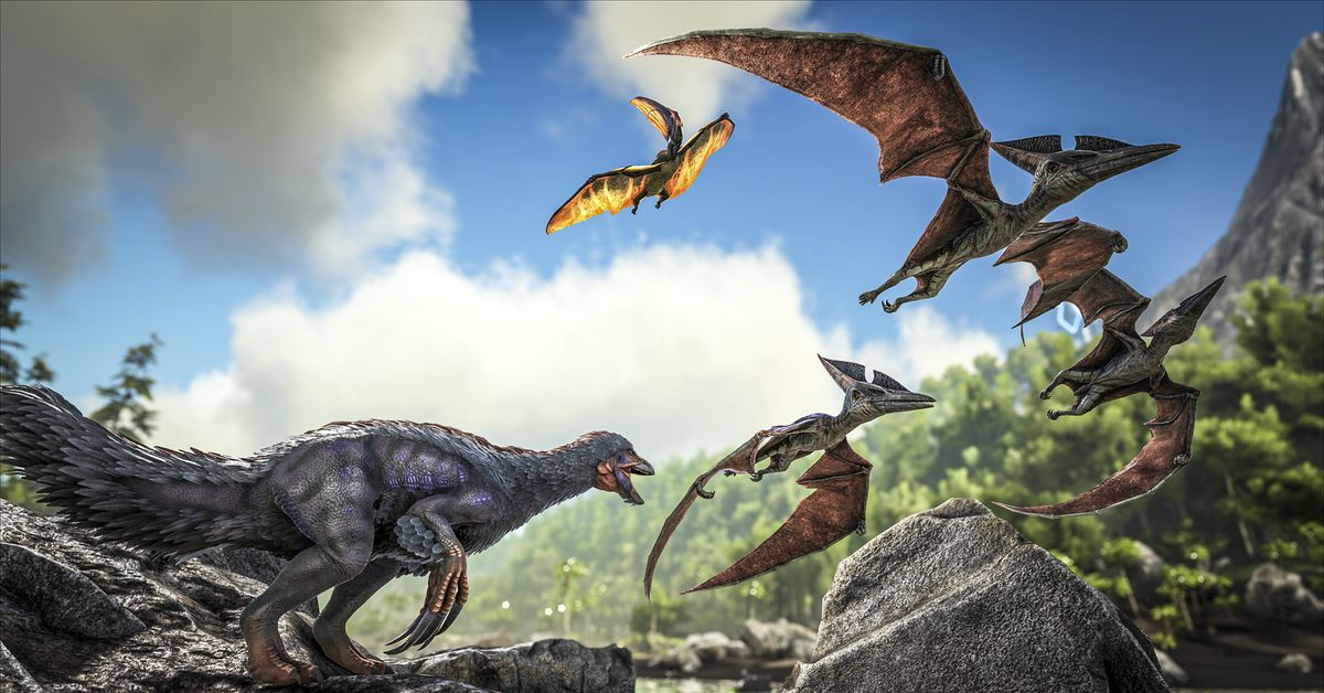 Ark Survival Evolved Is Coming To Mobile As A Free-To -3792