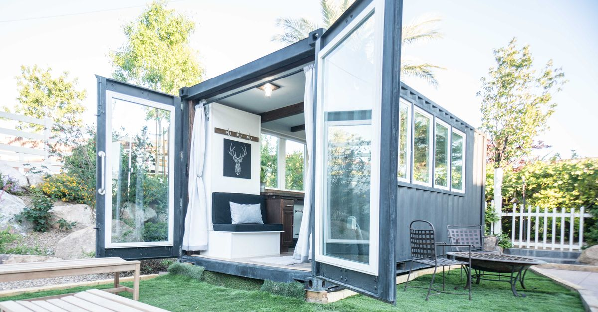 8 Staycation Worthy Tiny Homes For Sale: Light-filled Shipping Container House Cost Just $36K To