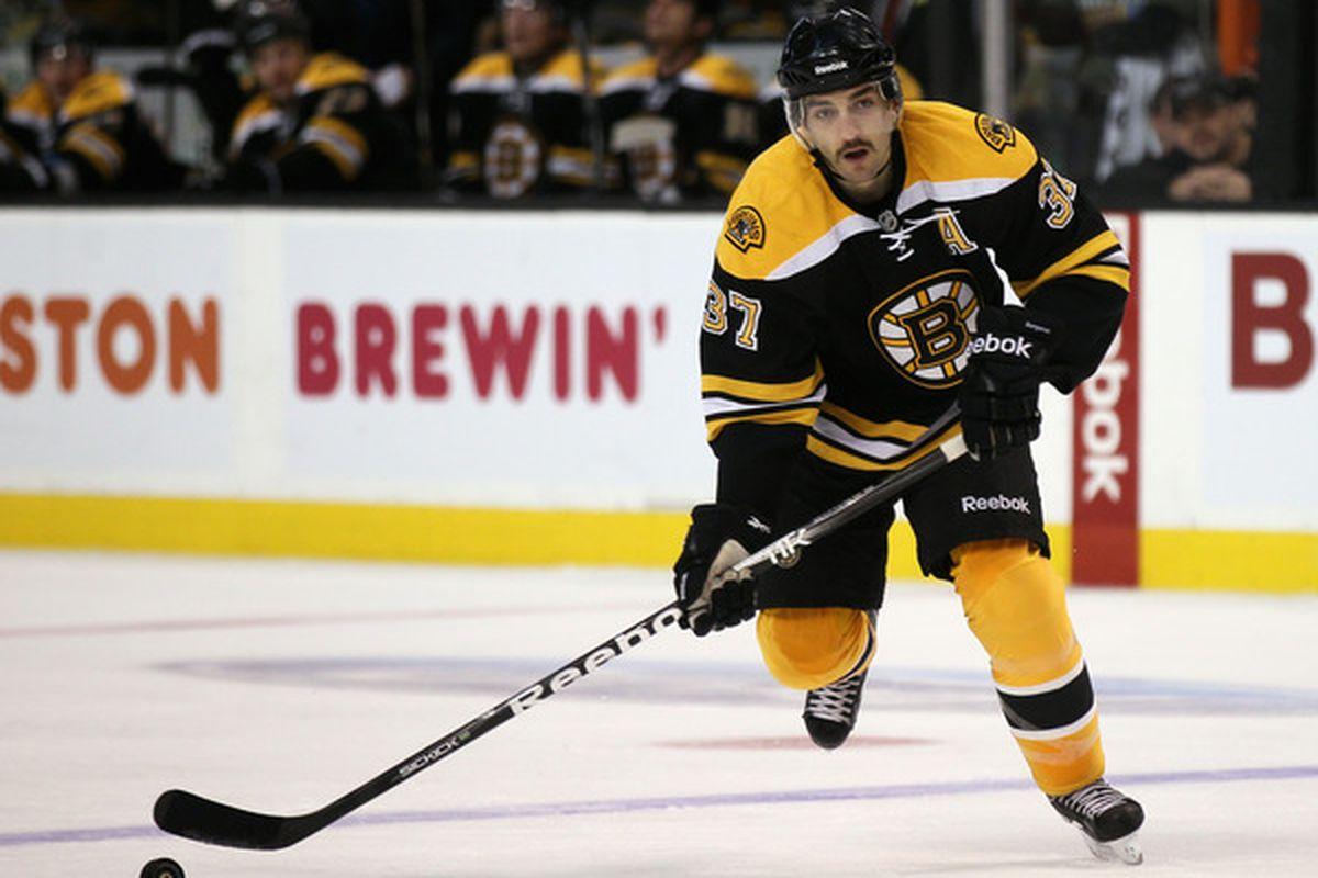 2011 12 Boston Bruins Player Report Cards Patrice Bergeron