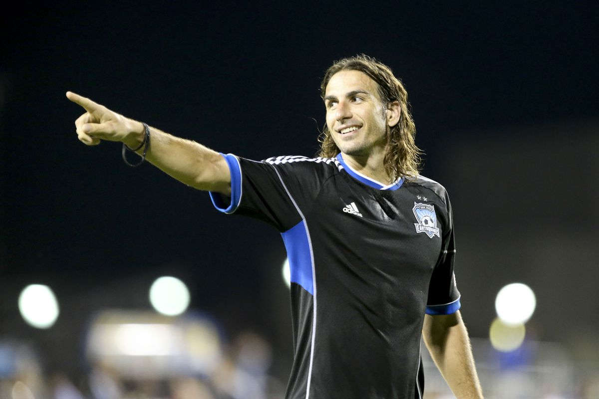 Alan Gordon will look to lift the Earthquakes over the Rapids on Wednesday night