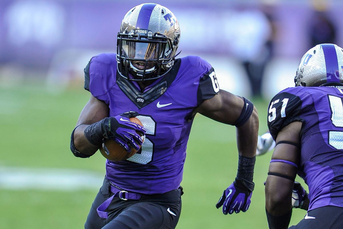 Seeing the ball in the hands of a safety isn't normal, but on TCU defense it is.  Throwing on TCU: Not even once.