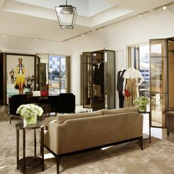 Additional game-changing touches include ten in-store digital screens to broadcast live events (such as the Burberry runway show), the brand's <B>largest beauty selection of any store</b>, and in-store monogramming and tailoring services. If that's not en