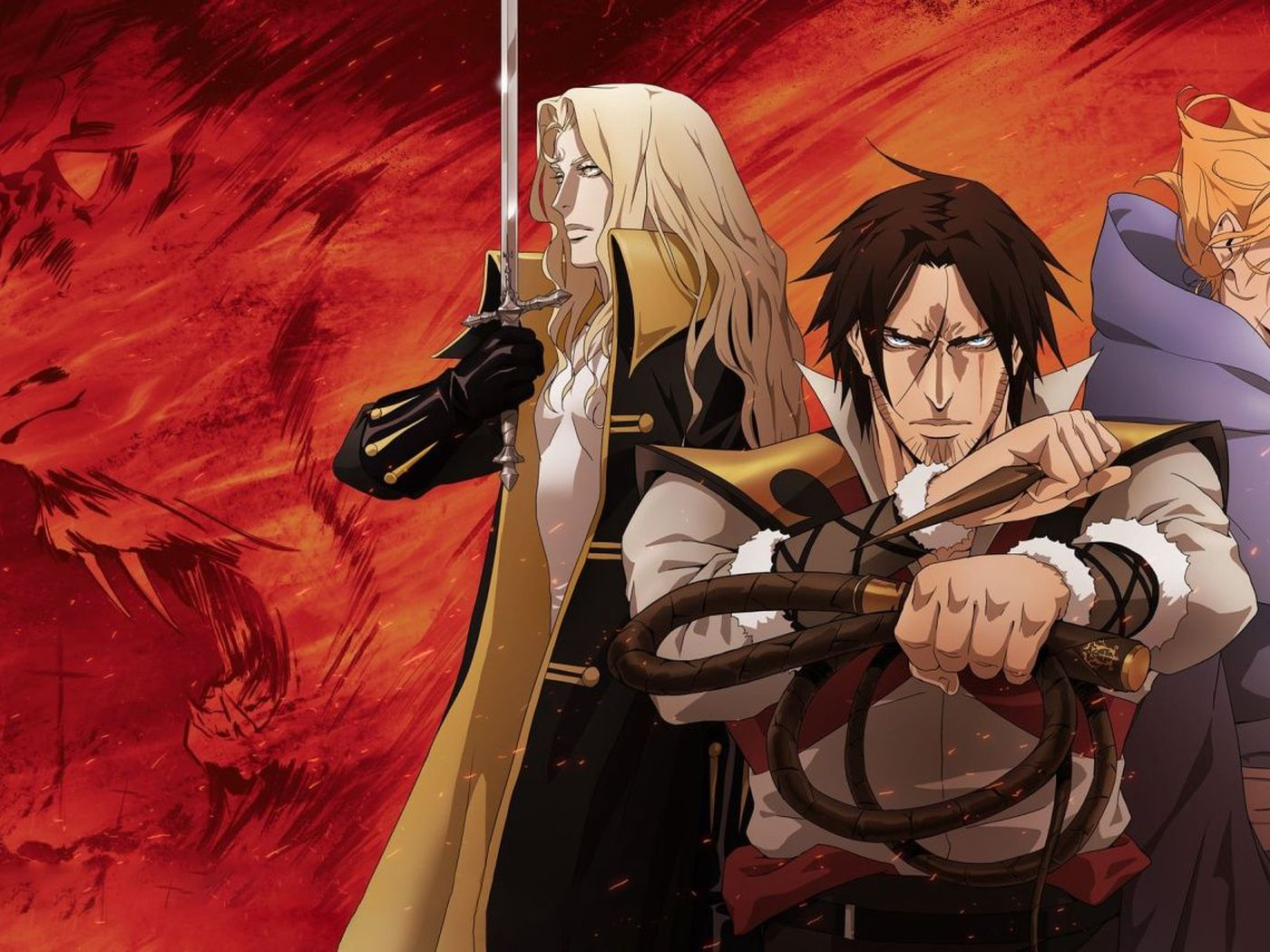 Castlevania S Netflix Anime Is On For Season 4 Polygon