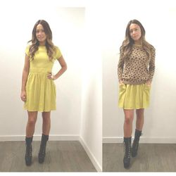 Kenny Pocket Dress $253 NOW $100     One Teaspoon Tiger Pullover  $204 NOW $75