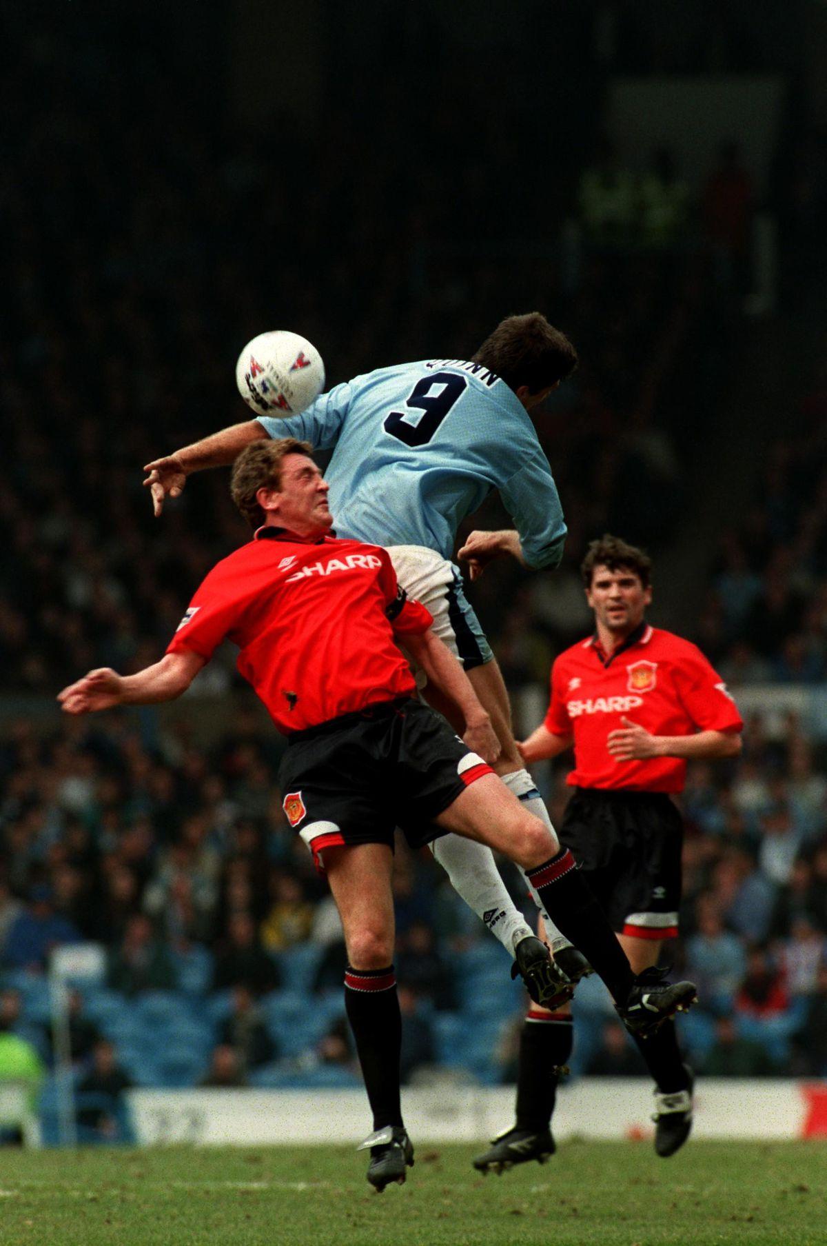 Soccer - Manchester City v Manchester United