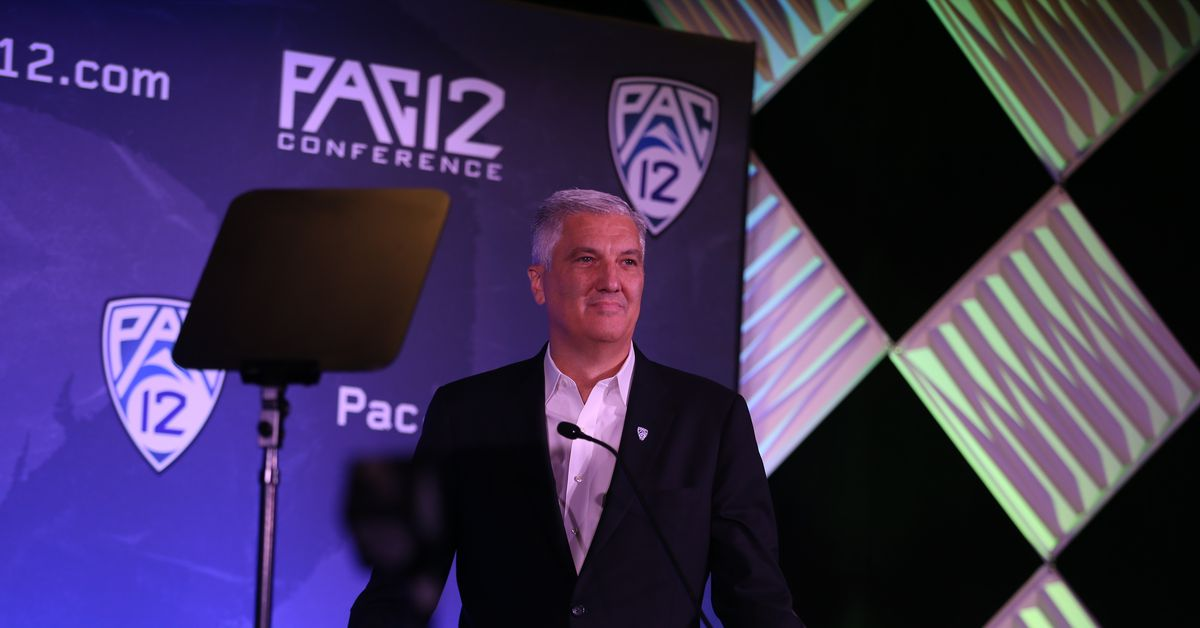 Pac-12 commissioner George Kliavkoff addresses equity in sports at women's basketball Media Day