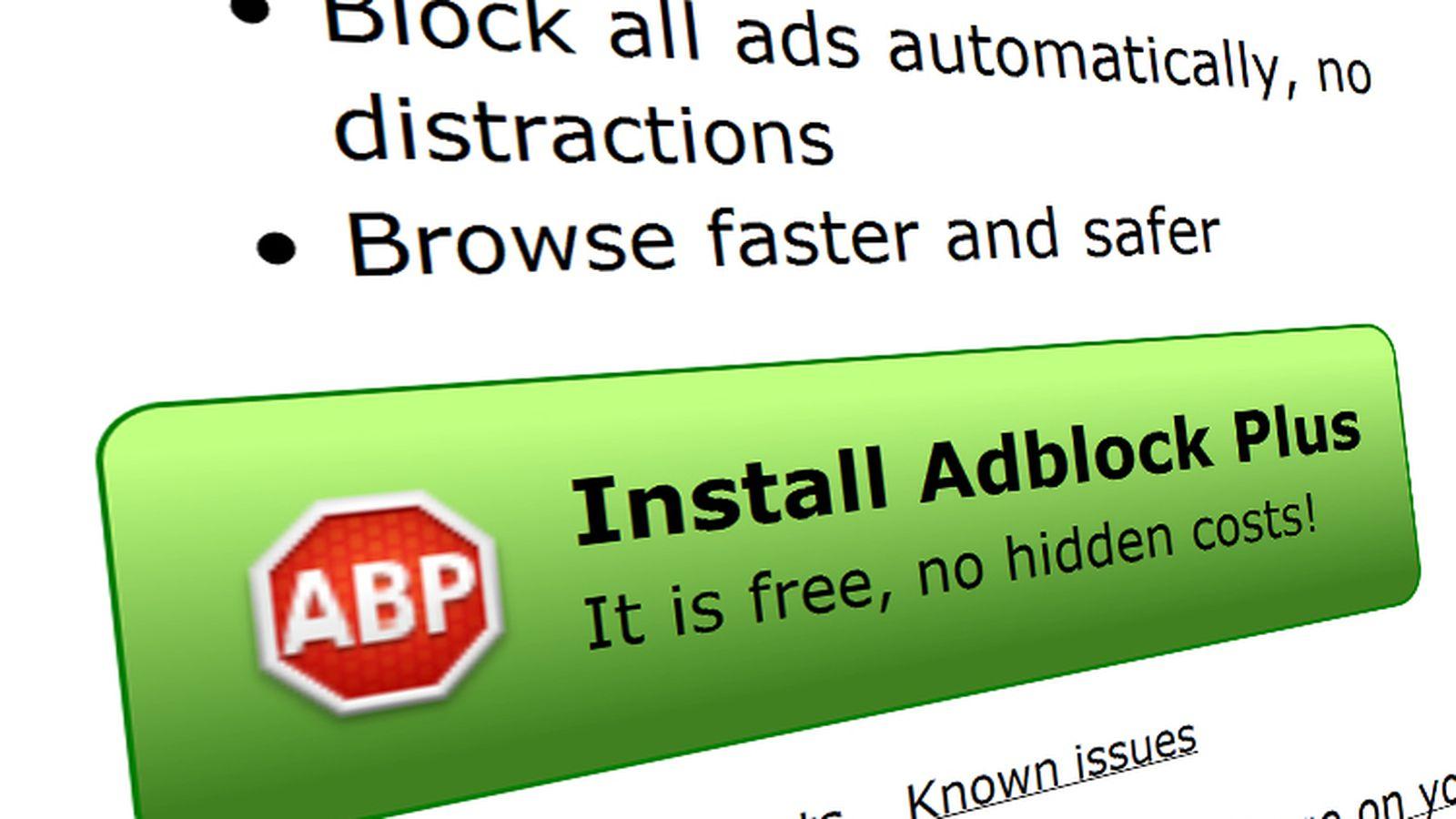 Here's how to block 'whitelist' ads from AdBlock Plus ...