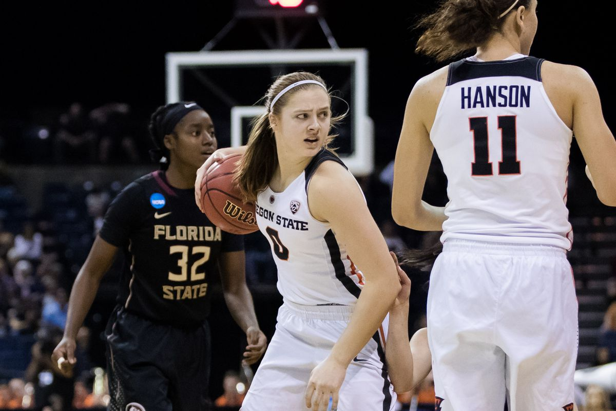 NCAA Womens Basketball: NCAA Tournament-Stockton Regional-Oregon State vs. Florida State
