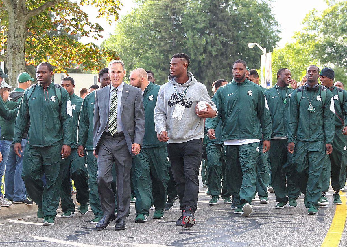 NCAA Football: Oregon at Michigan State