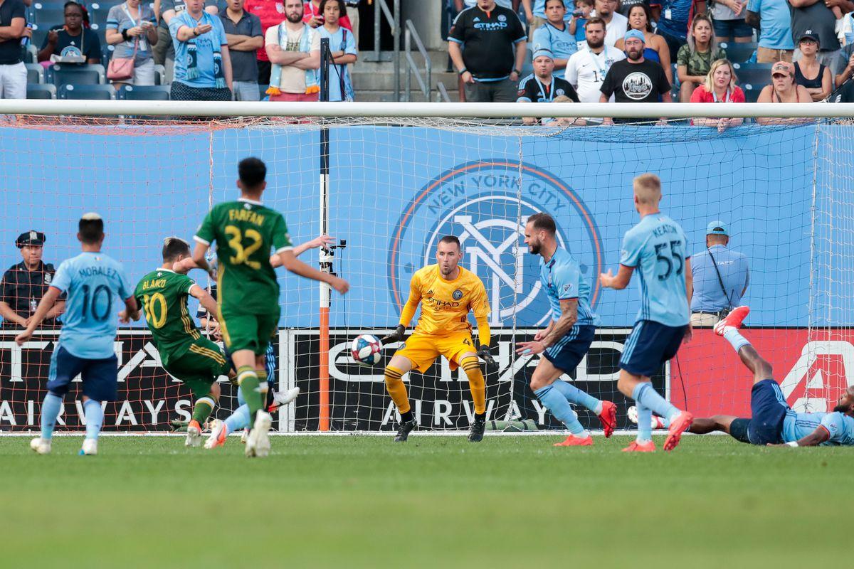 MLS: Portland Timbers at New York City FC