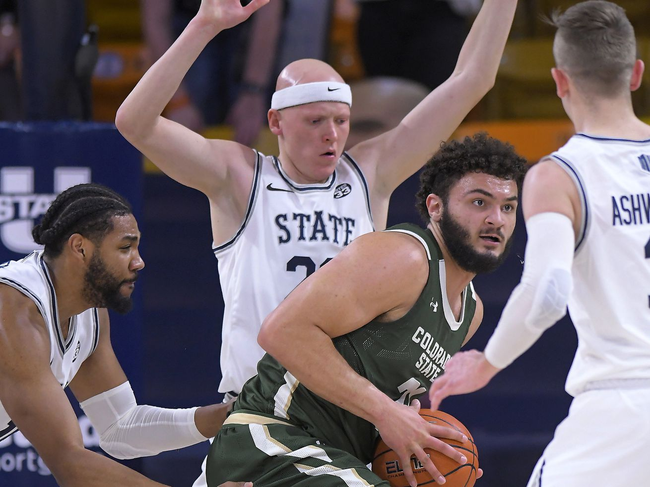 Utah State's defense doesn't hold up as win streak snapped at 11 with loss to Colorado State