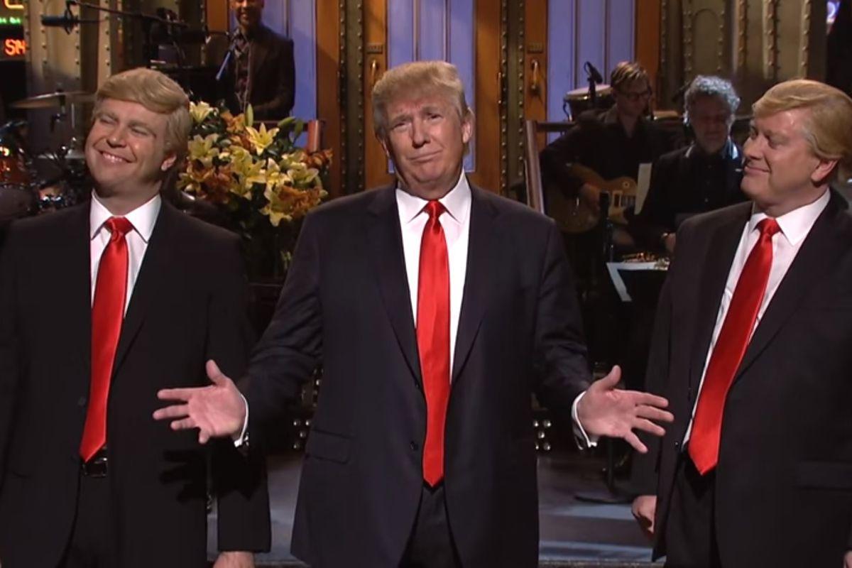 The Trumps of Saturday Night Live