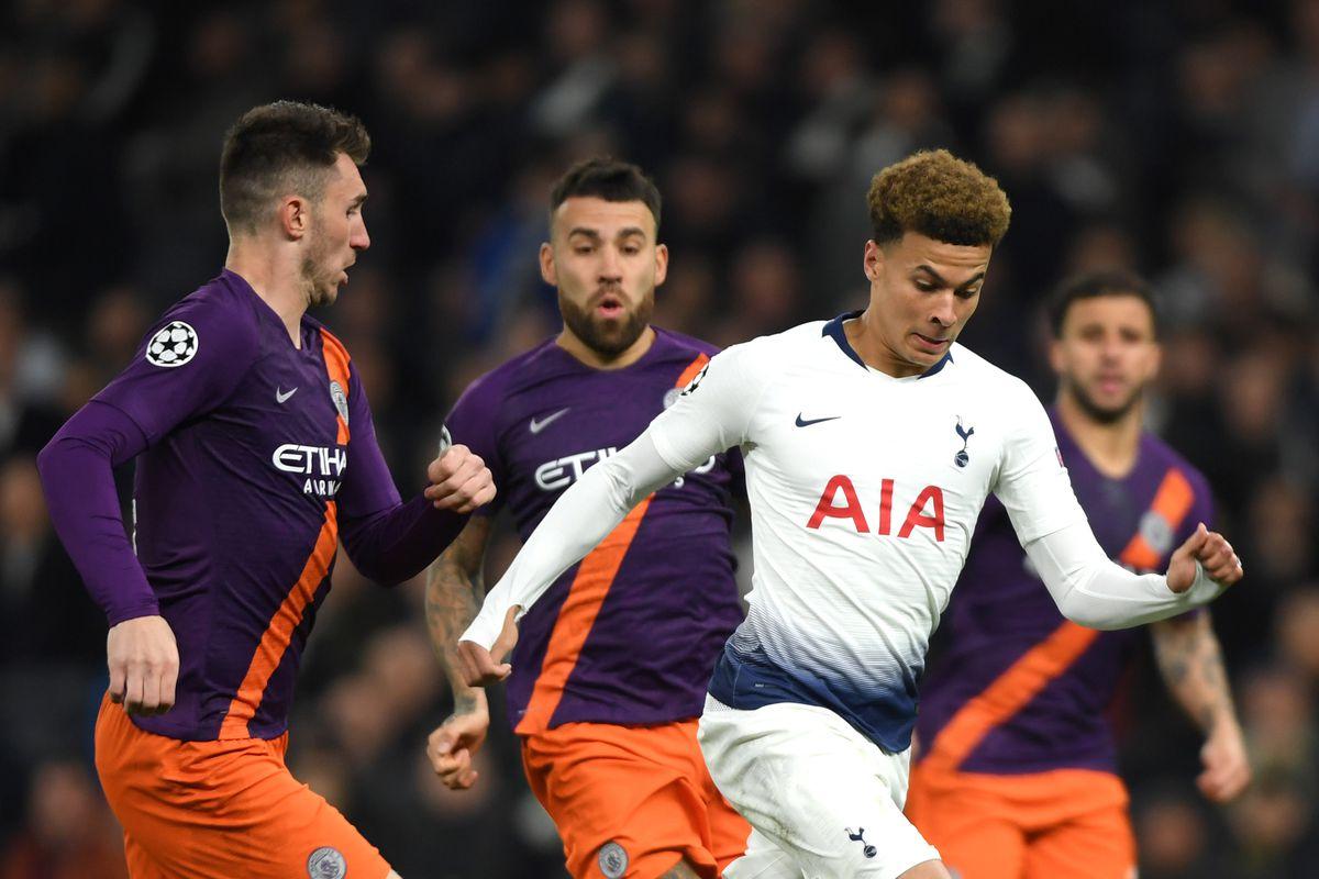 Tottenham Hotspur and Manchester City - UEFA Champions League Quarter Final: First Leg