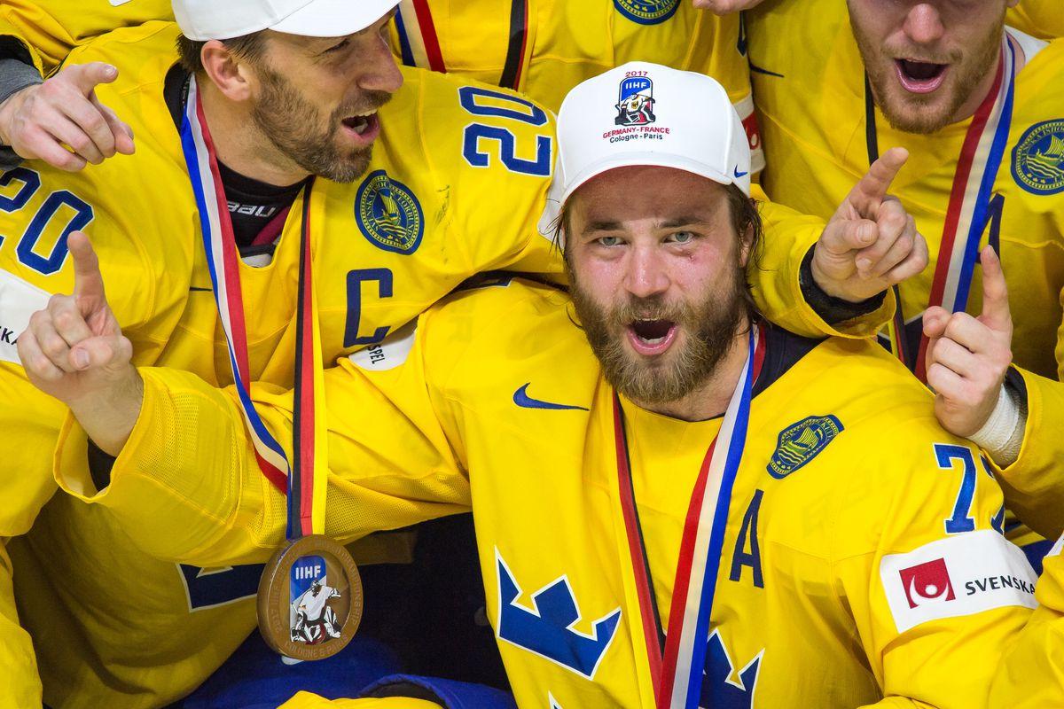 HOCKEY: MAY 21 IIHF World Championship Gold Medal Game - Canada v Sweden