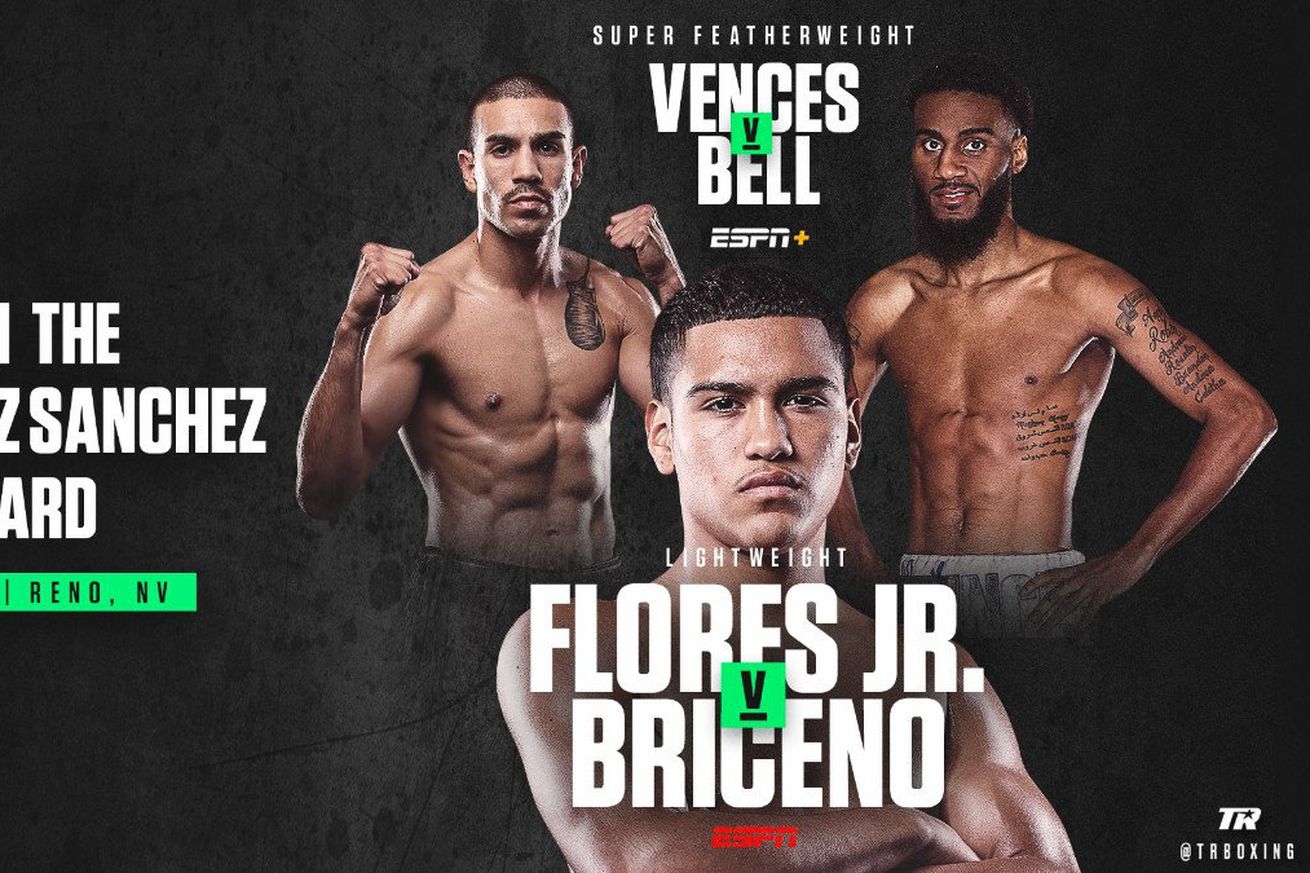valdez 1.0 - Flores Jr. co-headlines Valdez-Sanchez against Briceno