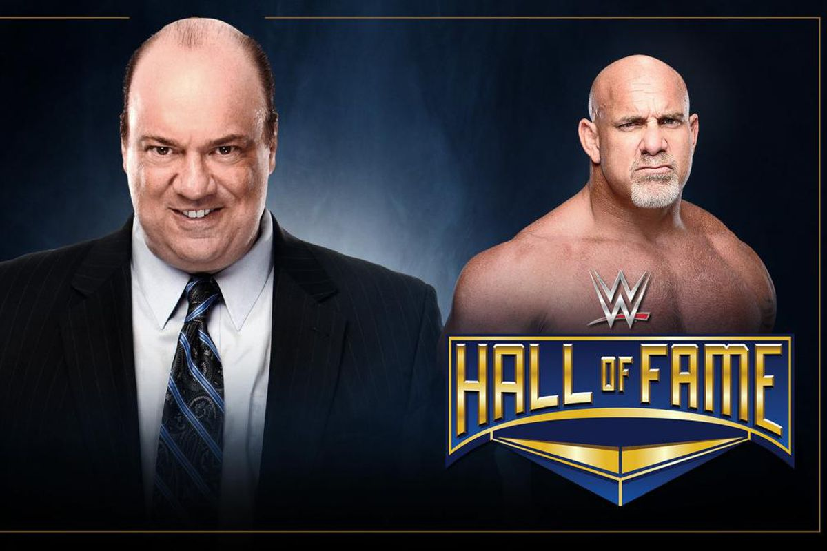 Image result for Paul Heyman To Induct Goldberg Into WWE Hall of Fame