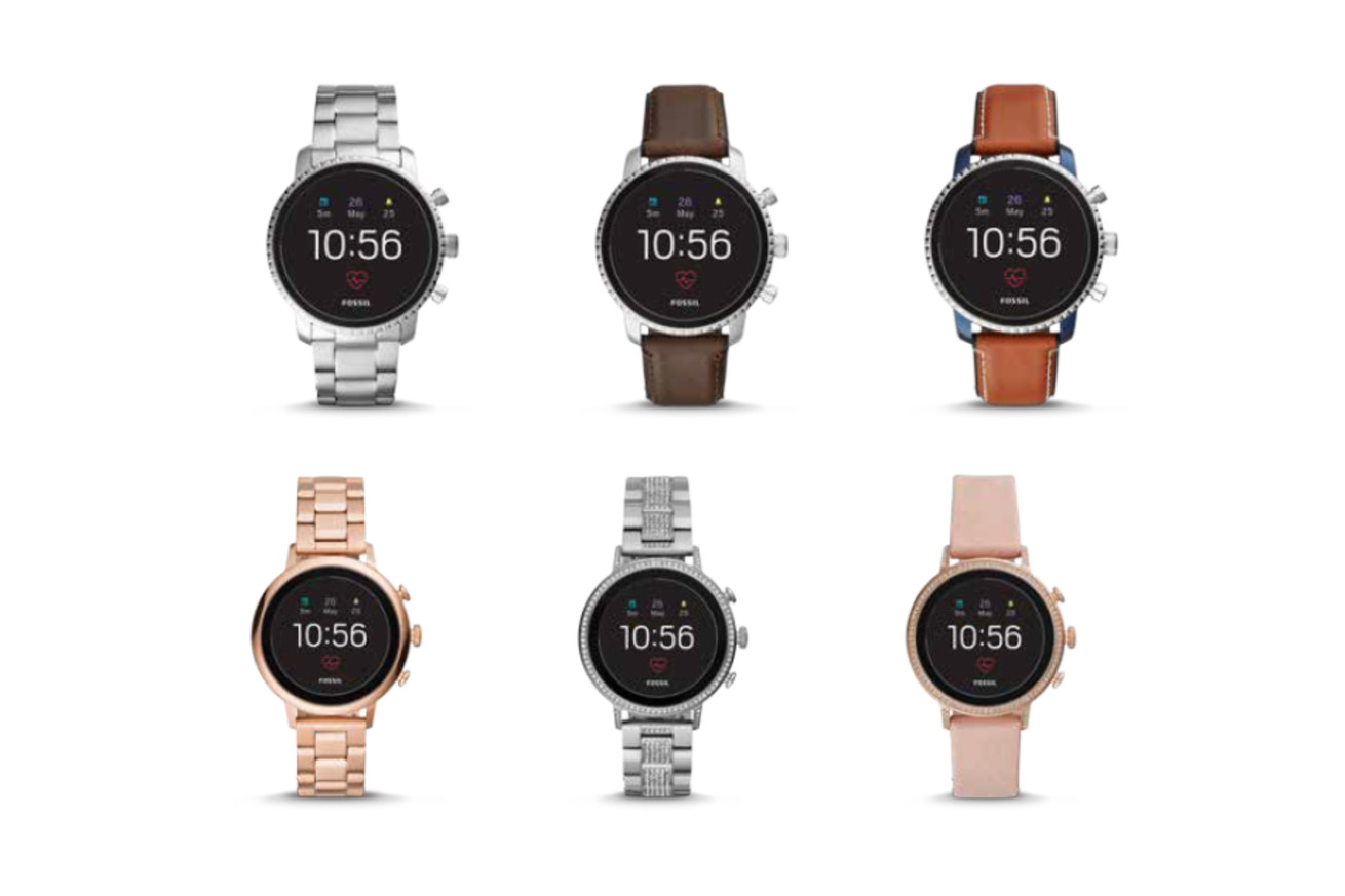 fossil s latest smartwatches have google pay heart rate tracking and gps